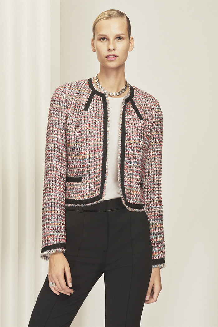 Glenwood Jacket Multicoloured Wool Tweed