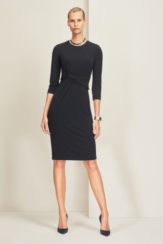 Linden Dress Navy Jersey 1