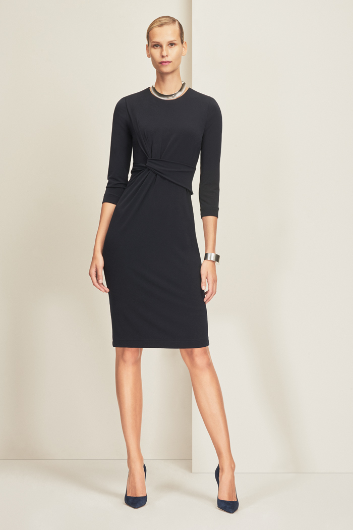Linden Dress Navy Jersey