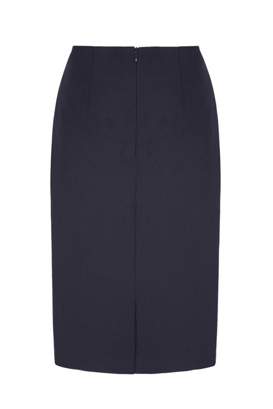 Ec1 Pencil Skirt Navy 3