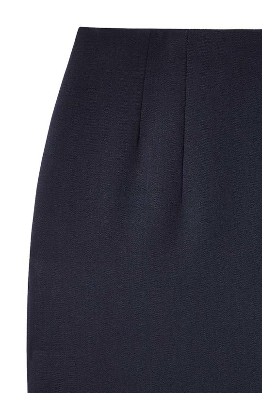 Ec1 Pencil Skirt Navy 4