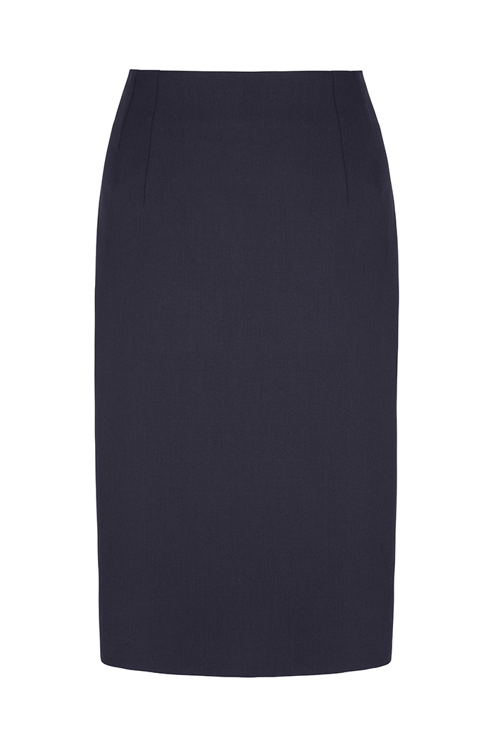 Ec1 Pencil Skirt Navy