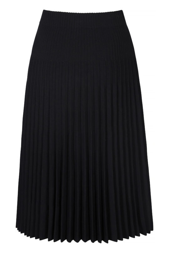 Alverston Skirt Black Rib Knit 3