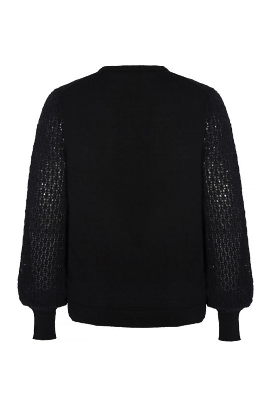 Dorrington Jumper Black Merino 3