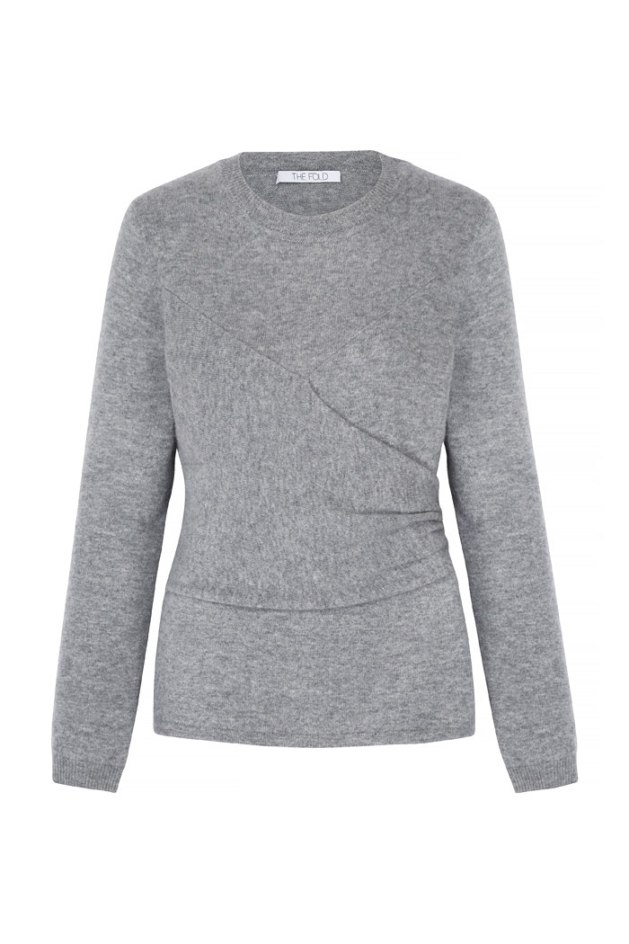 Kentmere Jumper Pewter Grey Cashmere