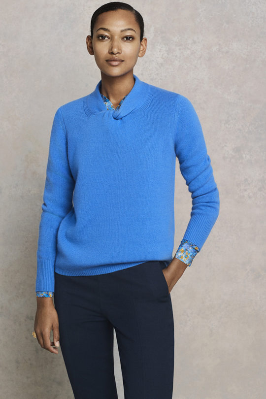 Kenwood Jumper Cornflower Blue Cashmere