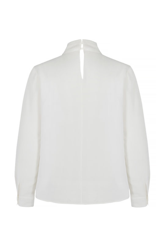 Saunders Blouse Ivory Silk 3