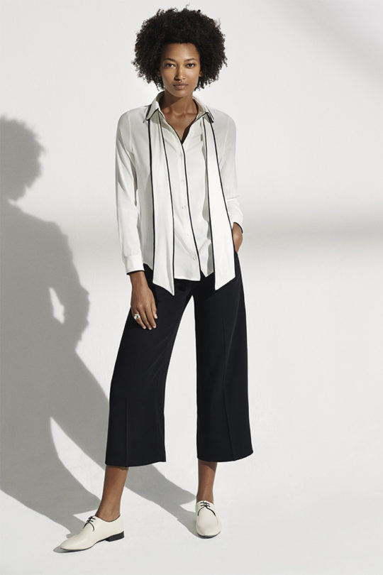 Ardleigh_Piped_Shirt_Ivory_Silk_DB043_LeMarais_Tailored_Culottes_Blk_DT009_676