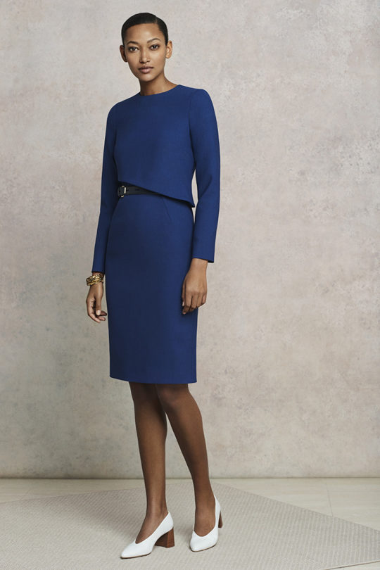 Fitzrovia Dress Dark Blue