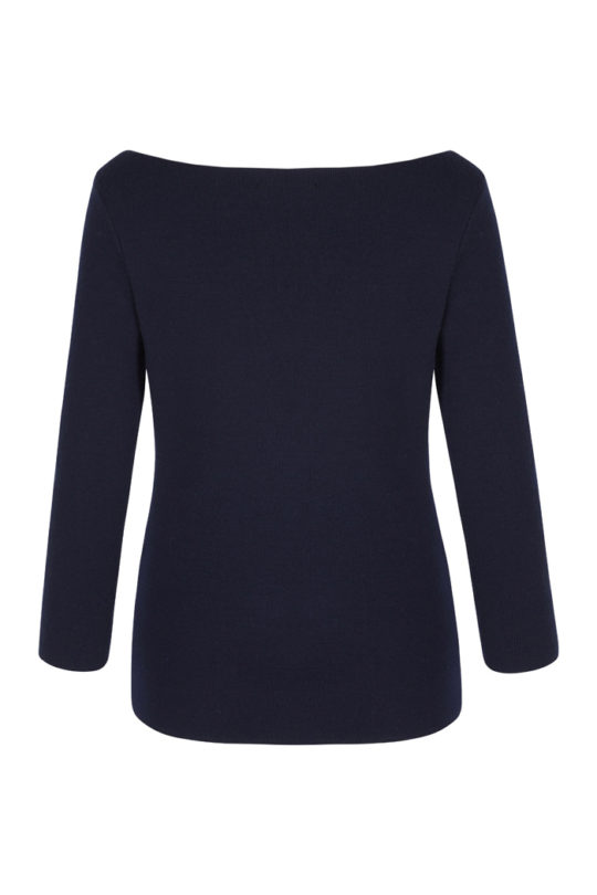 Mariner Jumper Navy Merino 3