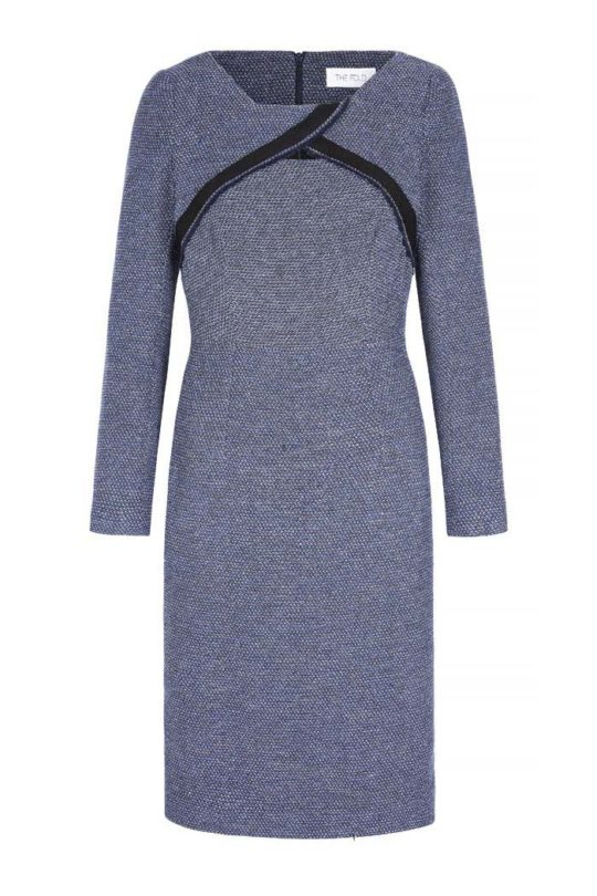 Parnell Dress Multicoloured Tweed