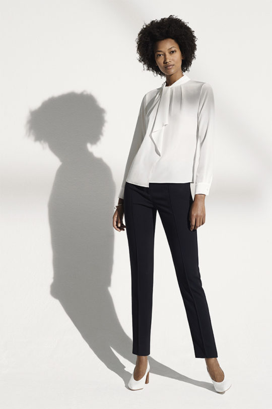 Saunders_Blouse_Ivory_Silk_DB032_LeMarais_Tailored_Trousers_Black_DO182001_1101