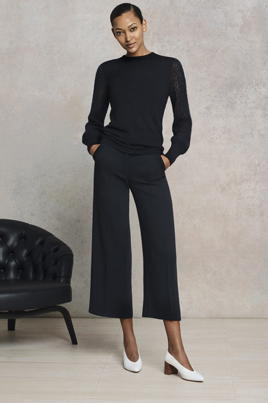 Le Marais Tailored Culottes Black (Bl)