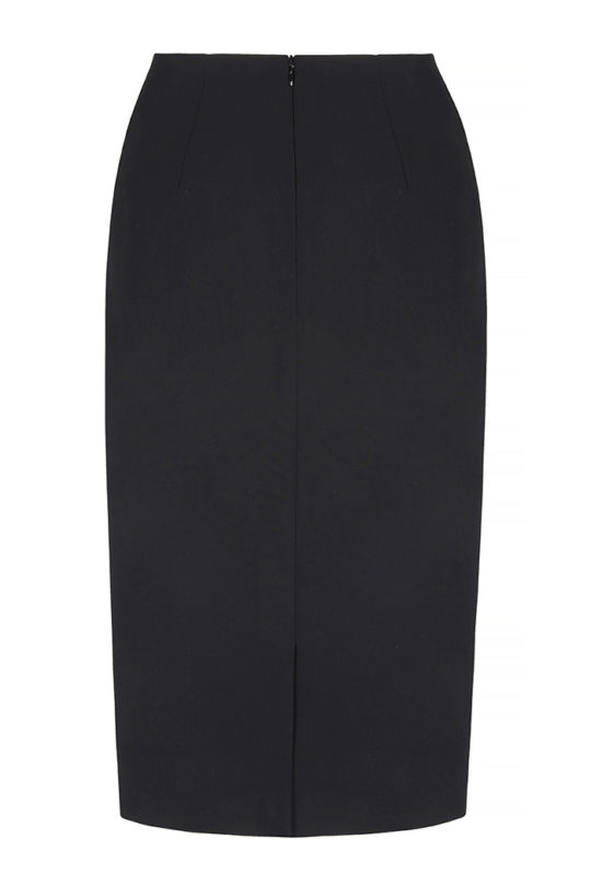 Le Marais Slim Fit Pencil Skirt Black 3