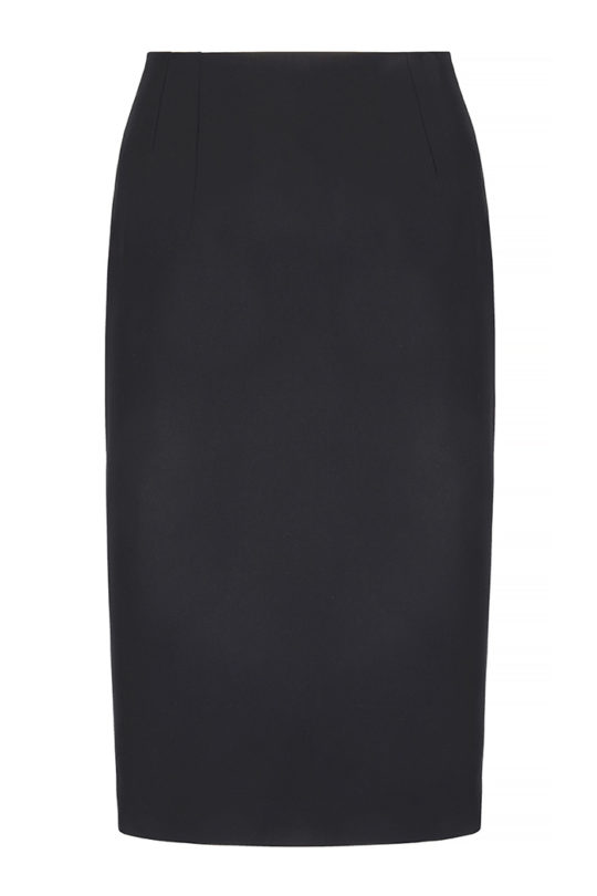 Le Marais Slim Fit Pencil Skirt Black