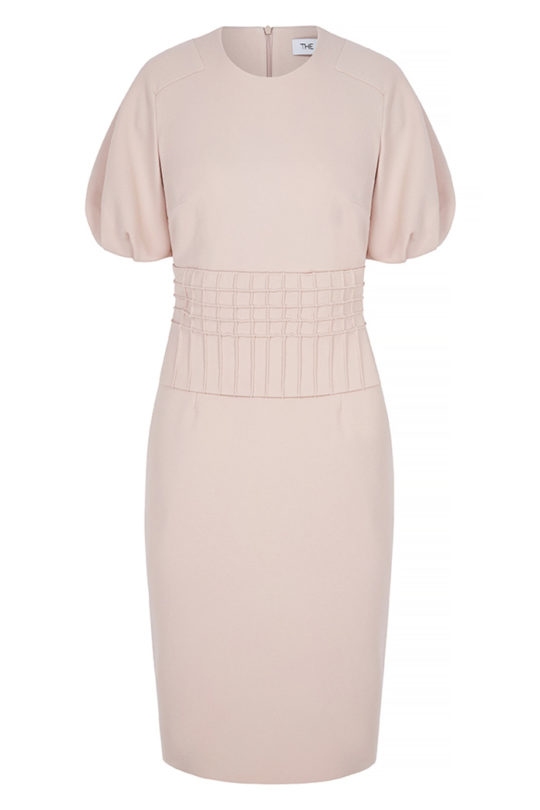 Lowndes Dress Blush Pink Crepe