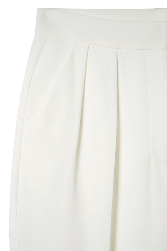 Almeida Trousers White Crepe 4