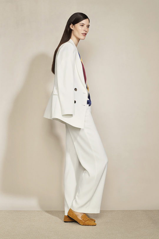 Almeida Trousers White Crepe 5