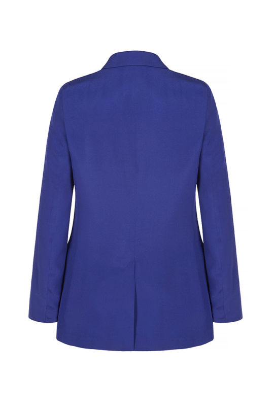 Almeida Jacket Royal Blue Heavy Silk 3