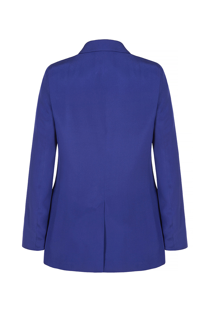 Almeida Jacket Royal Blue Heavy Silk