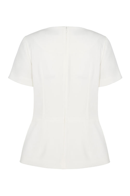 Boswell Top White Crepe 3
