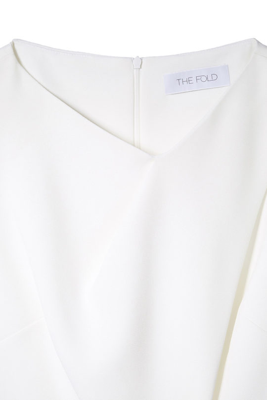 Boswell Top White Crepe 4