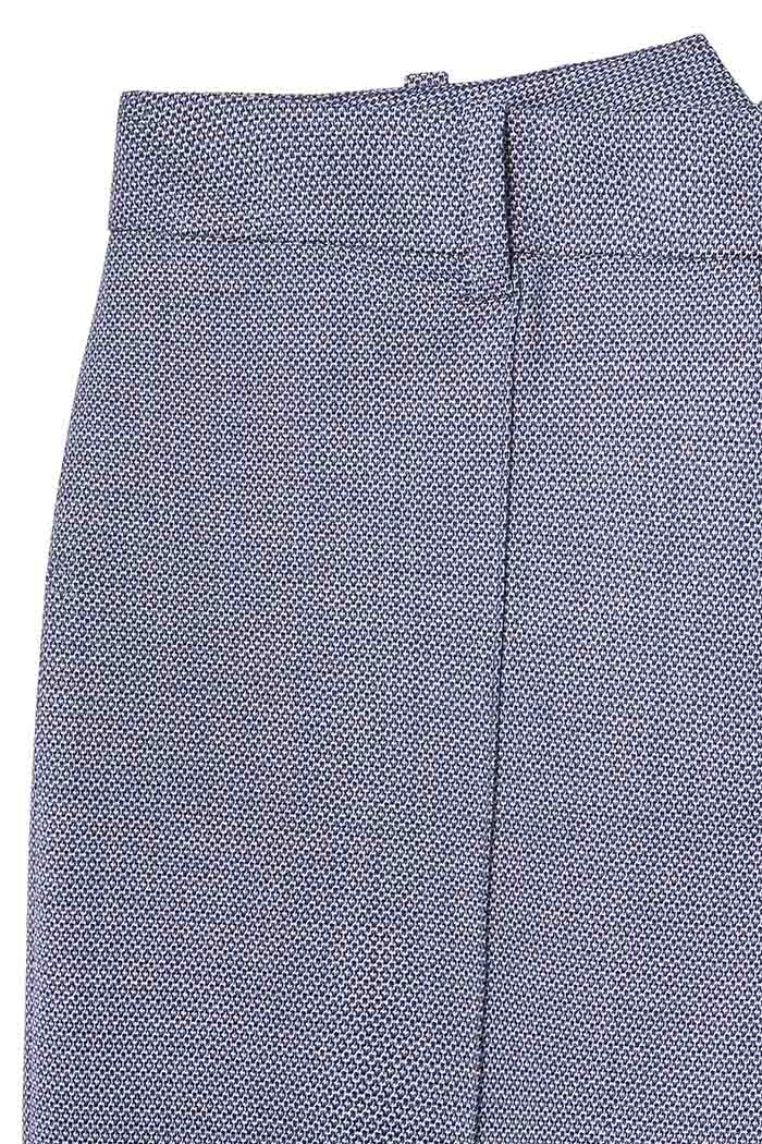 Delvino Trousers Blue Jacquard