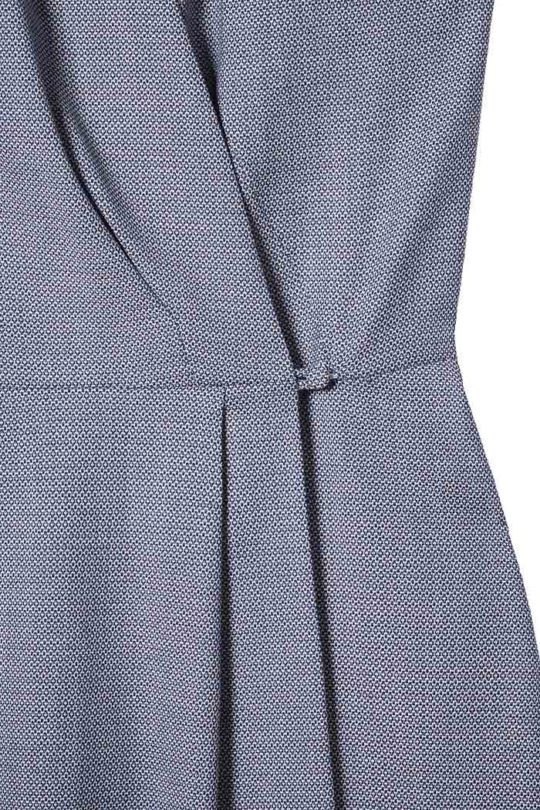 Hampton Dress Blue Jacquard 4