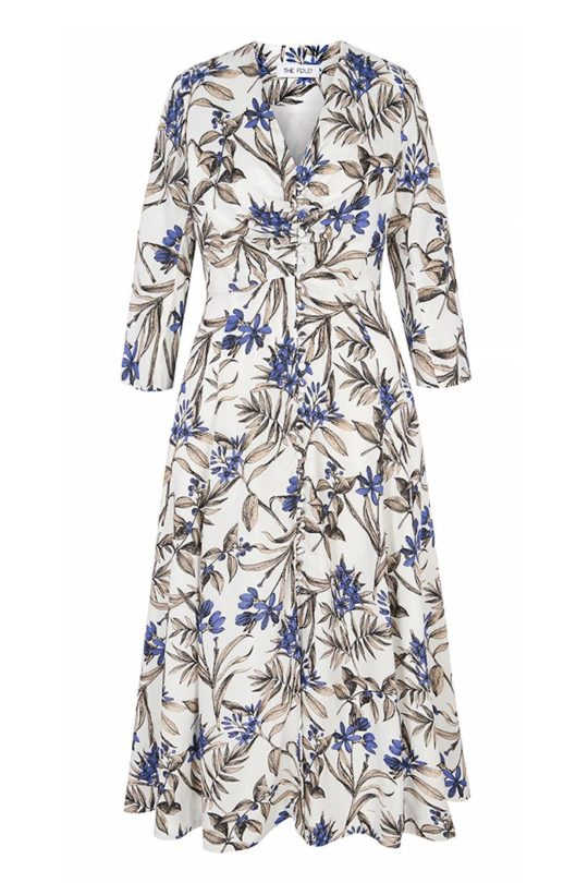 Lochaline Dress Botanical Print