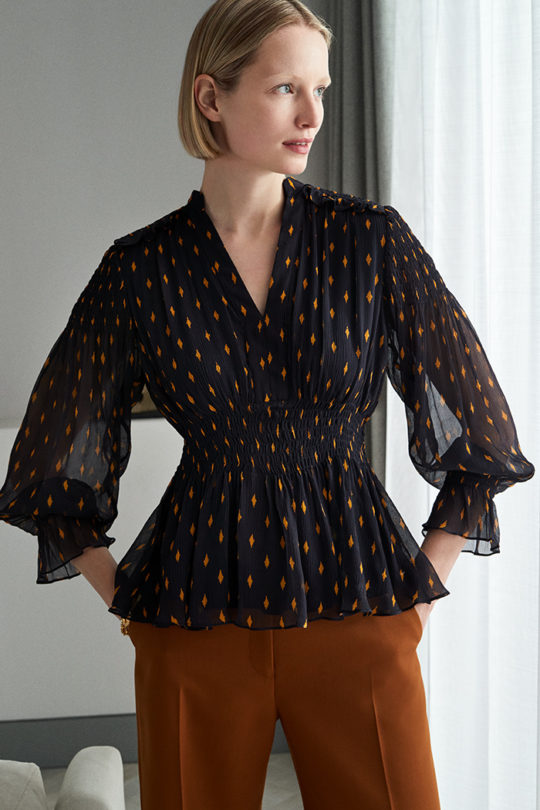 VERBANIA BLOUSE NAVY DB058_221_v2