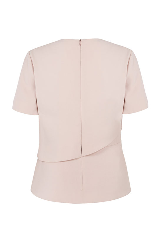 Langan Top Blush Pink Crepe 3