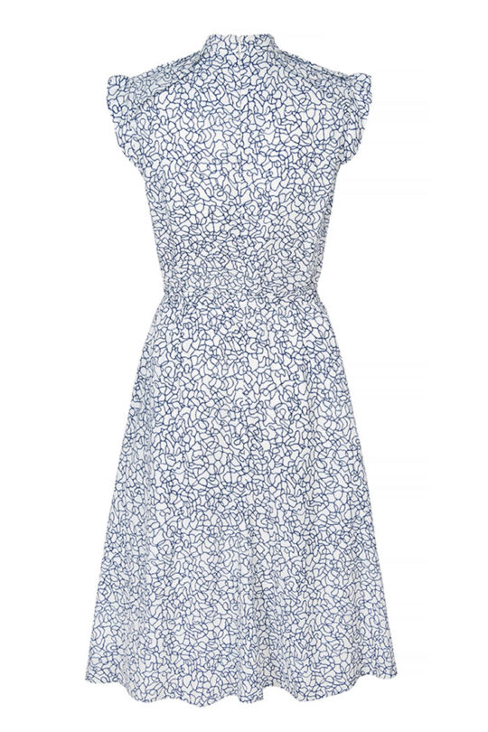 Laglio Dress Ivory Print Viscose 3