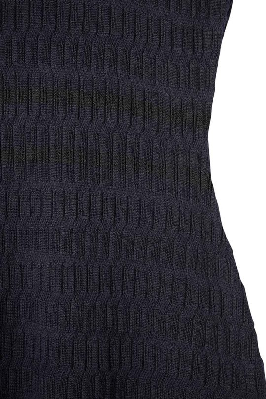Knightly Dress Navy Merino 4