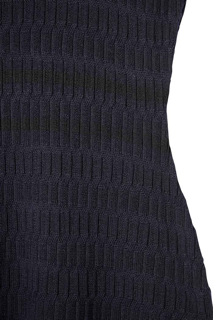 Knightly Dress Navy Merino