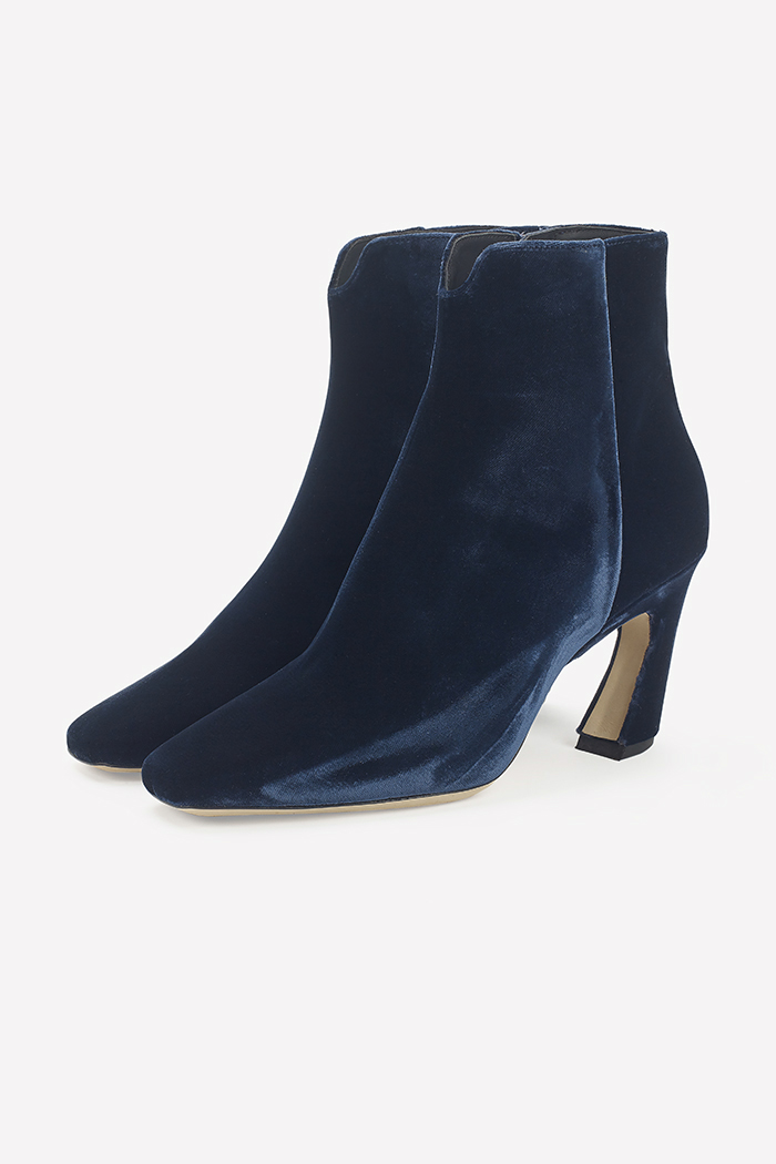 Roma 80 Midnight Blue Velvet