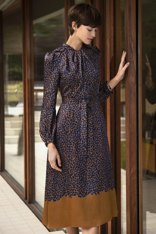 Haslemere Dress Viscose Print