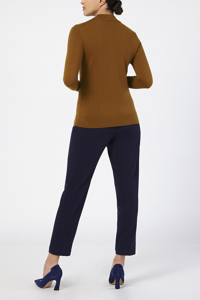 Lille High Neck Sweater Toffee