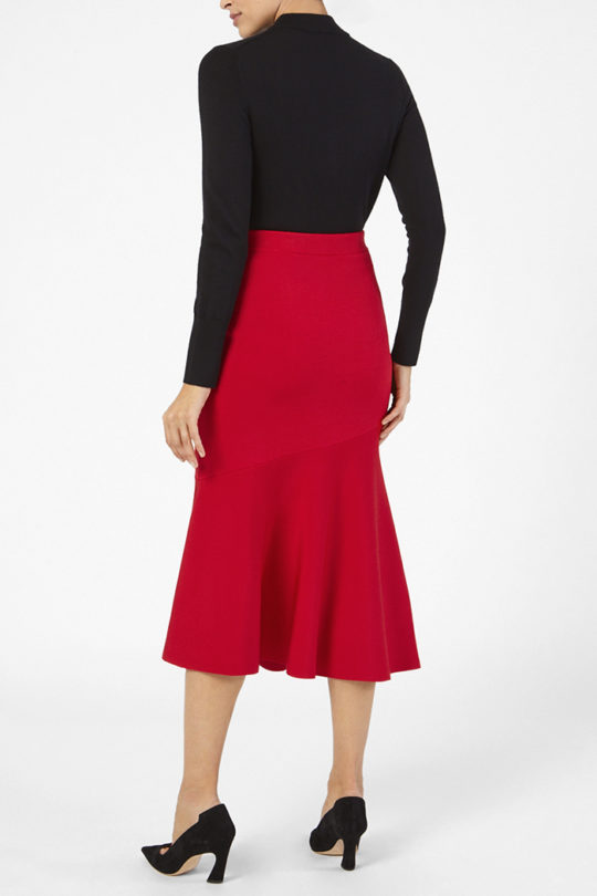 Paris Skirt Ruby Red 3