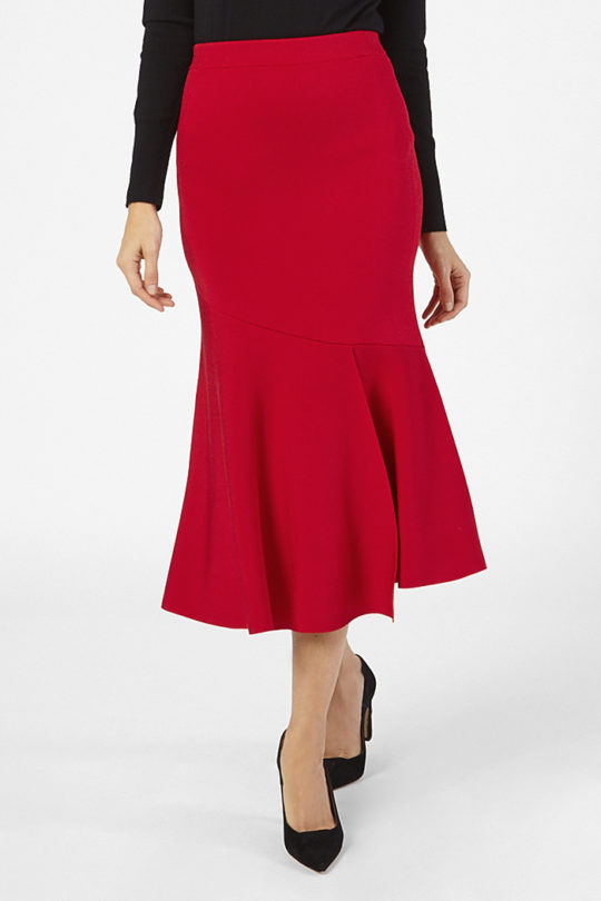 Paris Skirt Ruby Red 4