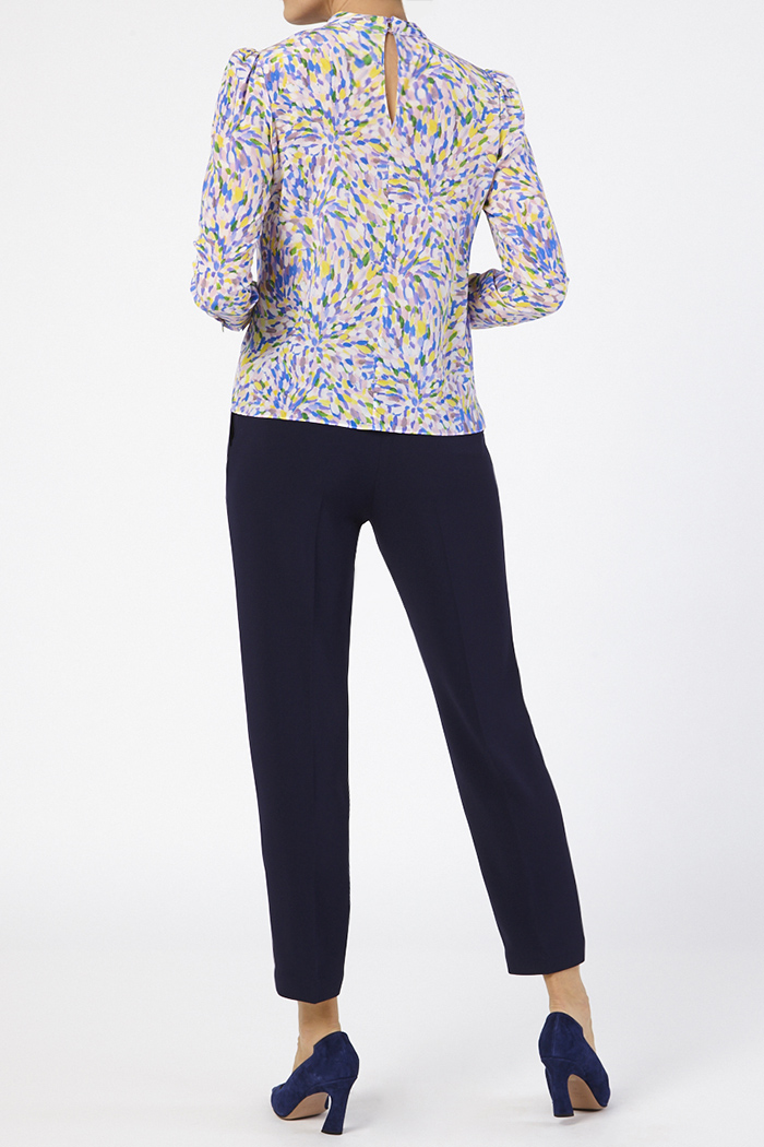 Eastleigh Blouse Multicoloured Silk