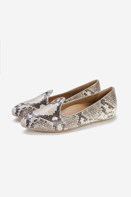 Catania Flat Snake-Embossed Leather 5
