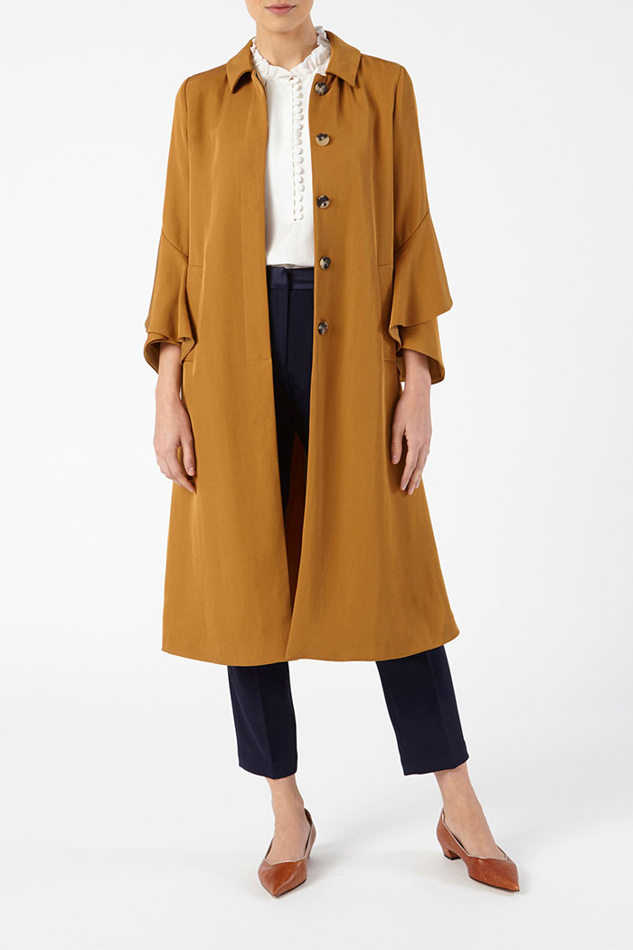 Napier Trench Camel Twill 3
