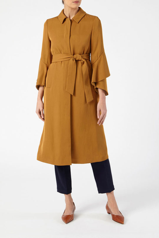 Napier Trench Camel Twill 4