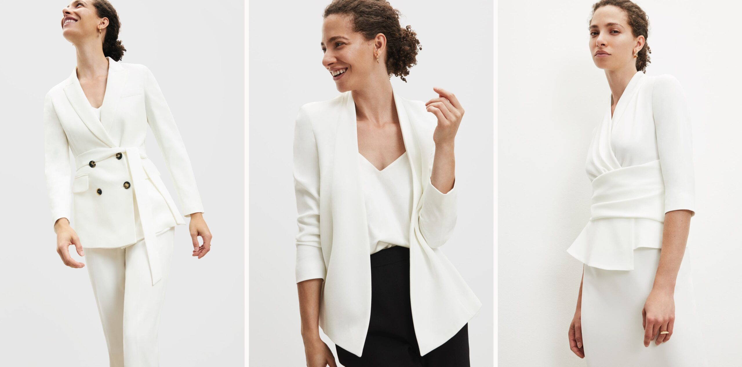white suiting collection