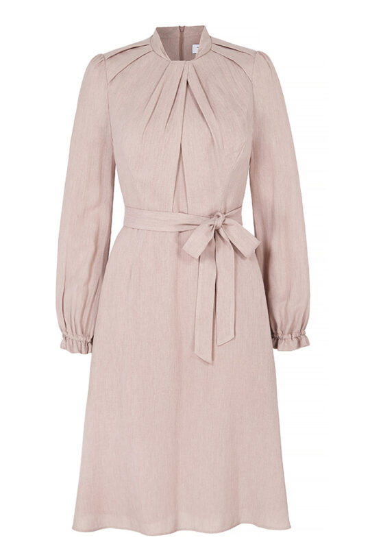 https://thefoldlondon.com/wp-content/uploads/2019/06/HASLEMERE_DRESS_BLUSH_HERRINGBONE_FRONT.jpg