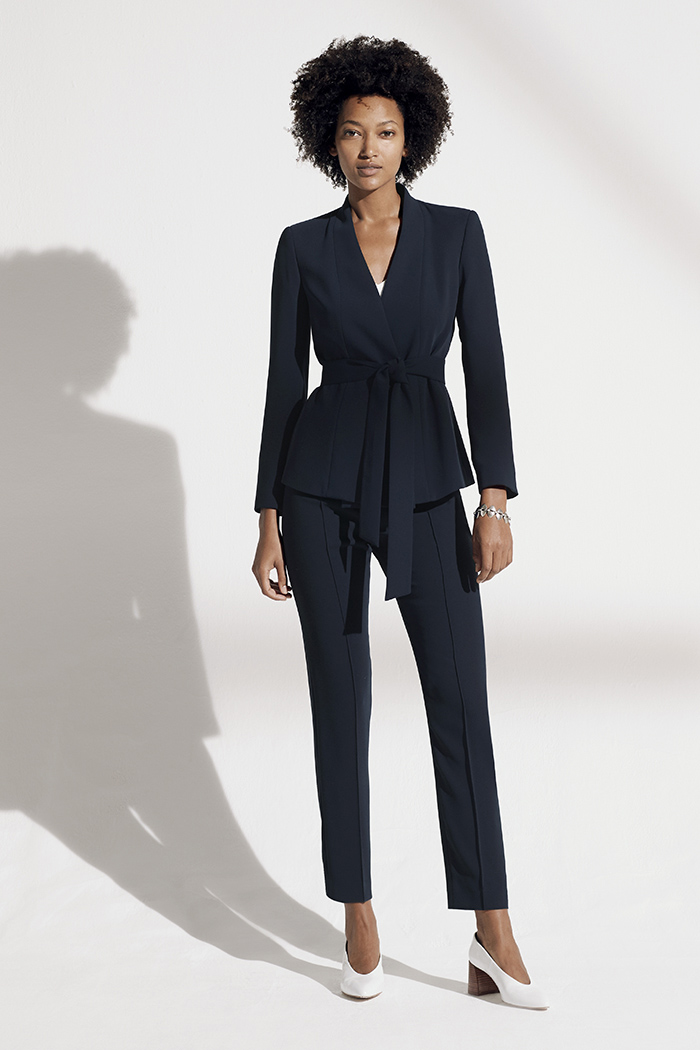 https://thefoldlondon.com/wp-content/uploads/2019/02/LeMarais_Wrap_Jacket_Navy_DJ005_Haydon_Top_Ivory_Silk_Satin_DB049_LeMarais_Tailored_Trousers_Navy_DO182003_1366.jpg