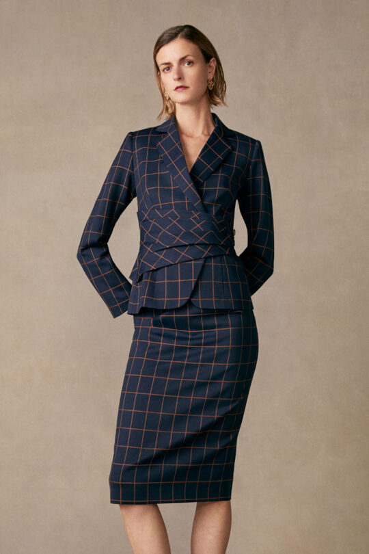 TheFold_COLLINGHAM_SKIRT_NAVY_AND_TOFFEE_CHECK_JACQUARD_DS041_015_v2.jpg