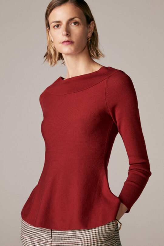 https://thefoldlondon.com/wp-content/uploads/2015/08/TheFold_Sivell_Sweater_Berry_Red_Merino_DK061_1_v2.jpg