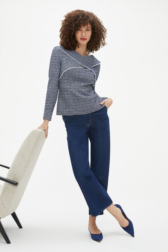 https://thefoldlondon.com/wp-content/uploads/2015/08/TheFold_Clovelly_Top_Navy_Tweed_DB162_2102_2_v2.jpg