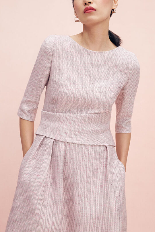 https://thefoldlondon.com/wp-content/uploads/2015/08/TheFold_Camelot_Dress_Blush_Pink_Tweed_DD119_2102_2_v2.jpg